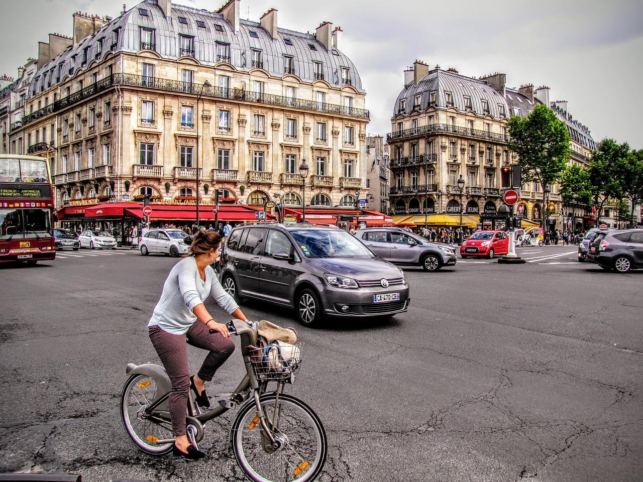 5 Itinéraires à vélo pour découvrir Paris