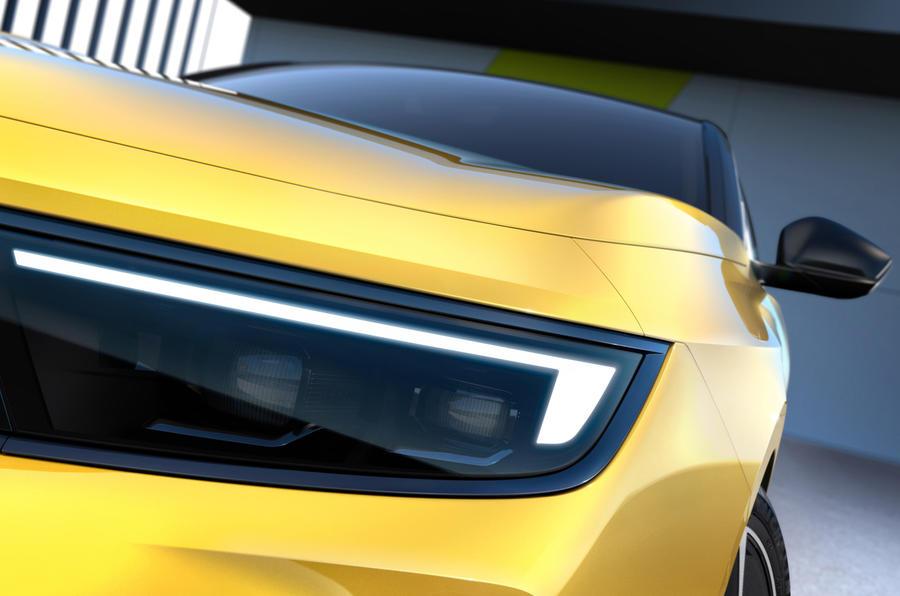 Opel dévoile le nouveau visage de sa compacte Astra