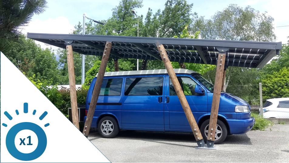 Les carports solaires pour camping-car : la révolution